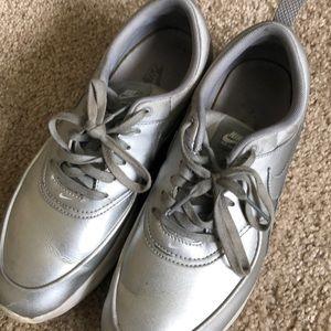Silver Nike's